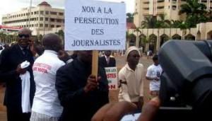 Journée internationale de la liberté de la presse: célébration sous fond de revendications au Cameroun des-journalistes-300x171