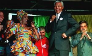 Madiba danse